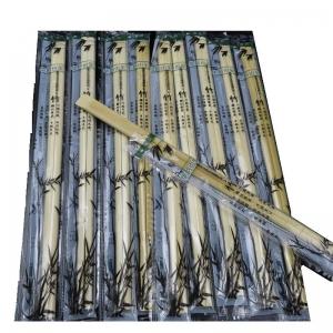 Бамбуковые палочки для еды 23 см.