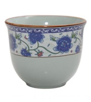 Чашка для чая (цвет-синий)