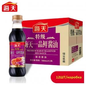 Соус соевый светлый Haday для морепродуктов  (Цена за коробку12*500ML